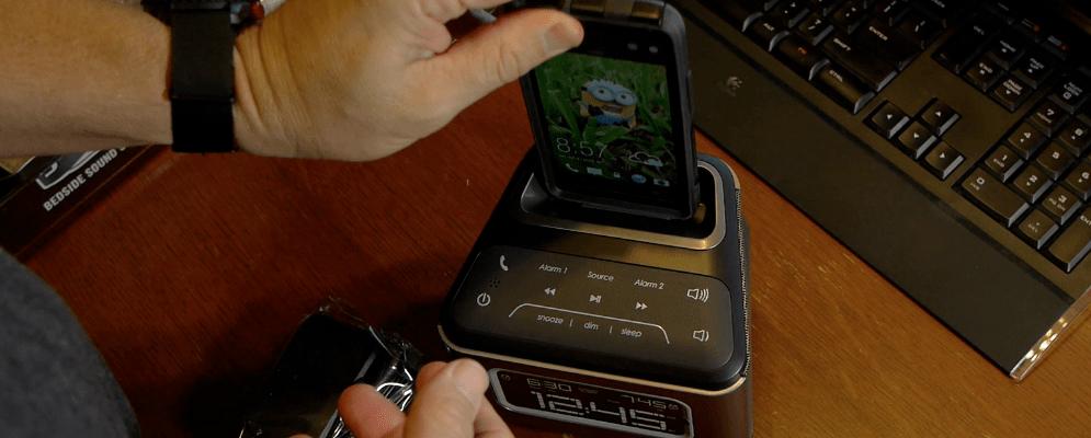 HMDX Jam Bedside Sound System