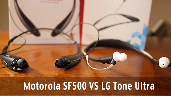 Motorola SF500 Vs LG Tone Ultra